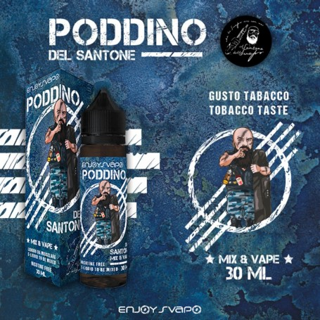 PODDINO 30 ML IL SANTONE DELLO SVAPO