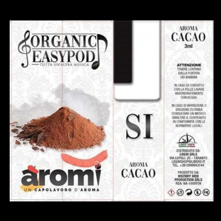 SI AROMA CACAO 1 ML NOTE EASY VAPE