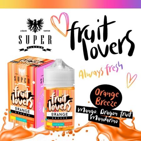 ORANGE BREEZE FRUIT LOVERS 50ML SUPER FLAVOR