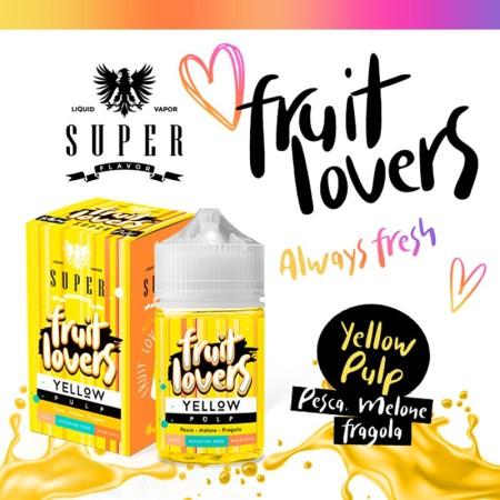 YELLOW PULP FRUIT LOVERS 50ML SUPER FLAVOR