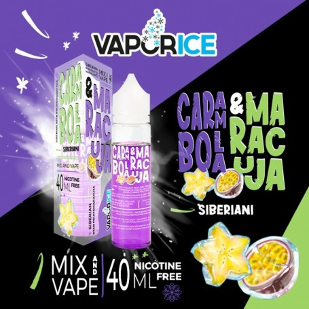 VAPORICE CARAMBOLA E MARACUJA 40 ML MIX&VAPE VAPOART