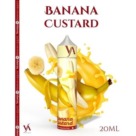 Banana Custard (20ml) - Valkiria