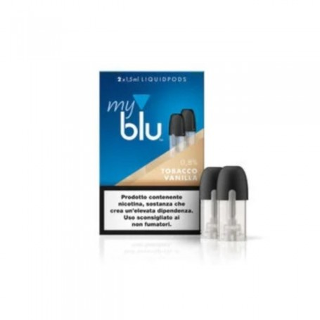 TOBACCO VANILLA LIQUID POD MY BLU 2 X 1,5ML BLU