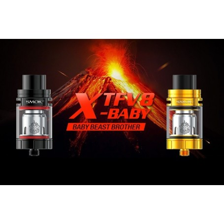 TFV8 X-BABY ATOM. 24,5 MM 4 ML STANDARD ED SMOK