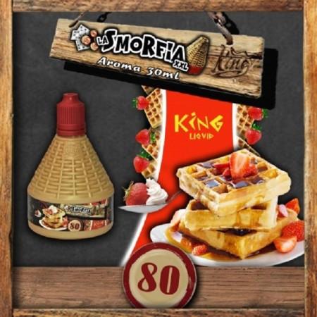 80 AROMA MIX E GO 30ML LA SMORFIA XXL KING-LIQUID