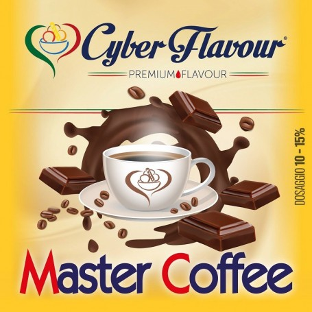 MASTER COFFEE AROMA 10 ML CYBER FLAVOUR