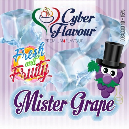 MISTER GRAPE AROMA 20 ML CYBER FLAVOUR