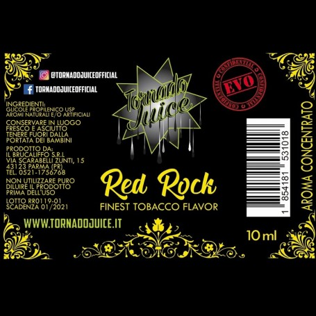 RED ROCK EVO 30 AROMA CONC. 10 ML TORNADO