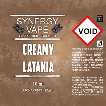 CREAMY LATAKIA SYNERGY VAPE AROMA 10 ML TORNADO