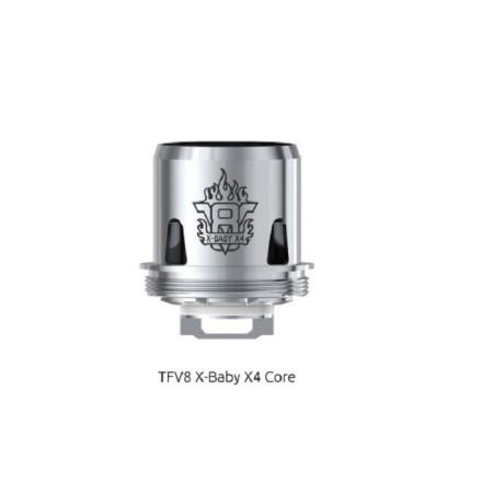 COIL TFV8 X-BABY-X4 QUADRUPLE 0,13 OHM 1 PZ SMOK