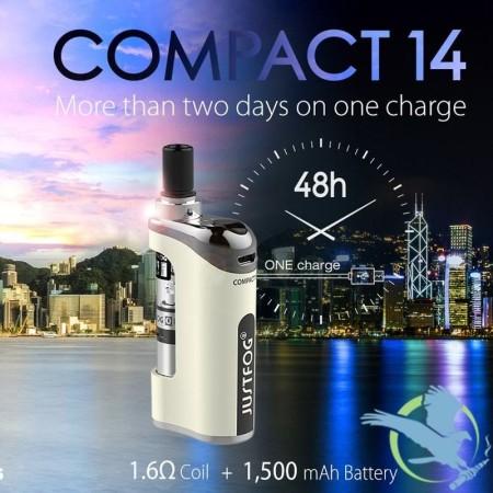 COMPACT 14 KIT 1500 MAH 1,8 ML JUSTFOG
