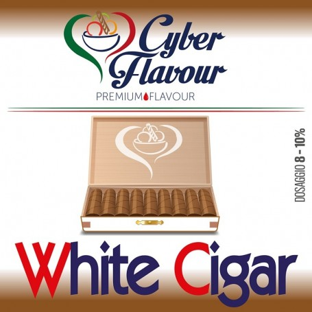 WHITE CIGAR AROMA 10 MLCYBER FLAVOUR