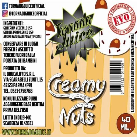 CREAMY NUTS MX-60 40 MLTORNADO JUICE