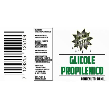 GLICOLE PROPILENICO 10 ML TORNADO JUICE