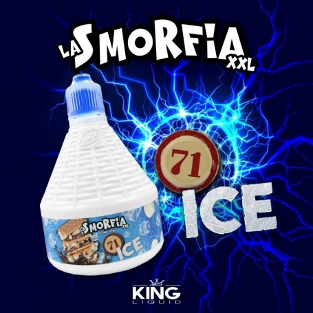 71 ICE AROMA MIX E GO 30ML LA SMORFIA XXL