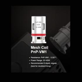 COIL PNP-VM1 MESH PER VINCI 0,30 OHM 1PZ VOOPOO