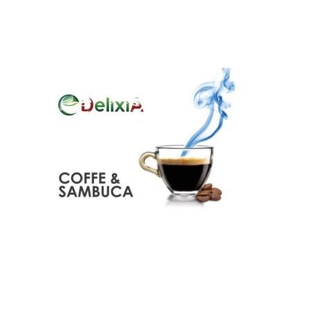 COFFE E SAMBUCA AROMA 10 ML DELIXIA