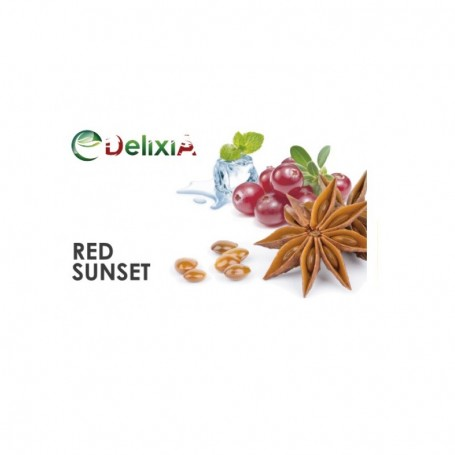 RED SUNSET AROMA 10 ML DELIXIA