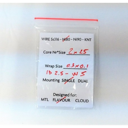 COIL TFV4 TF-S6 SEXTUPLE 0,40 OHM 1 PZ SMOK