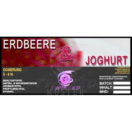 ERDBEER JOGHURT AROMA 10 ML TWISTED