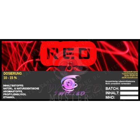 RED 5 AROMA 10 ML TWISTED