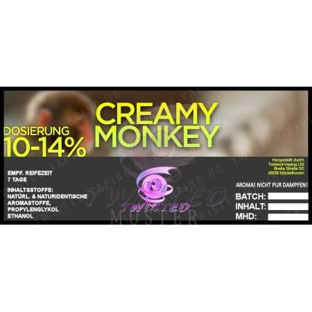 CREAMY MONKEY AROMA 10 ML TWISTED