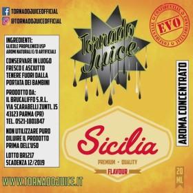 SICILIA EVO 60 CONCENTRATO 20 ML TORNADO JUICE