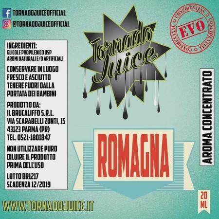 ROMAGNA EVO 60 CONCENTRATO 20 ML TORNADO JUICE