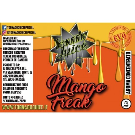 MANGO FREAK EVO AROMA CONC. 12 ML TORNADO JUICE