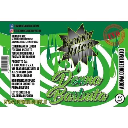 DONNA BARBUTA EVO AROMA CONC. 12 ML TORNADO JUICE