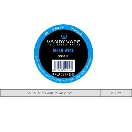 MESH 150 SS316L  VANDY VAPE