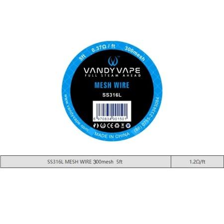 MESH 300 SS316L  VANDY VAPE