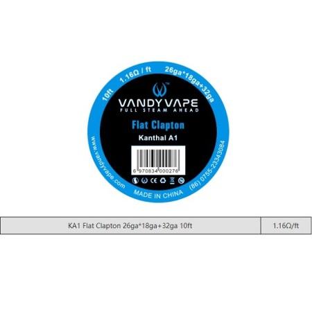 FILO Flat Clapton KA1 26GAX18GA+32GA VANDY VAPE