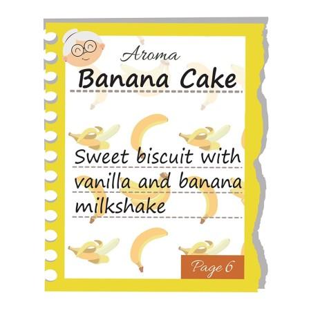 BANANA CAKE GRANNY RITA AROMA 10 ML DEA