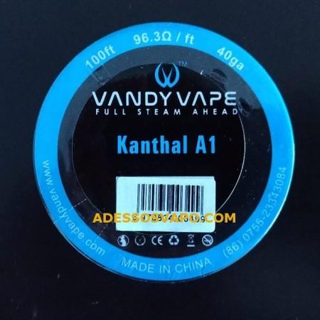 FILO KANTHAL A1 WIRE 40GA VANDY VAPE