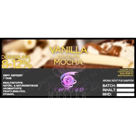 VANILLA CHOCOLATE MOCCAAROMA 10 ML TWISTED