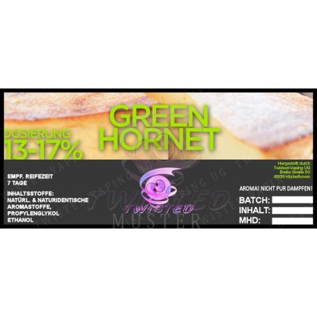 GREEN HORNET TOP 15 AROMA 10 ML TWISTED