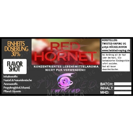 RED HORNET FLAVORSHOT AROMA 5 ML TWISTED