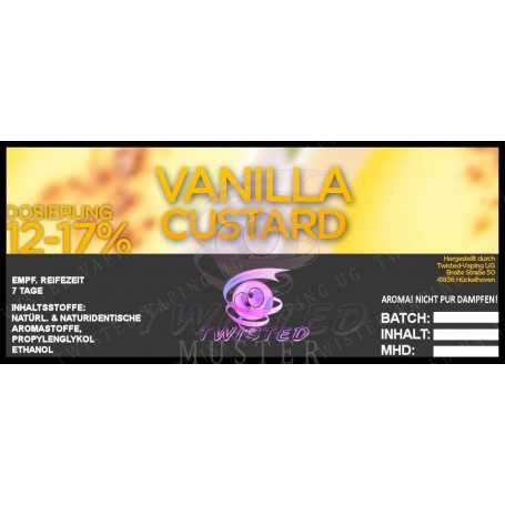 VANILLA CUSTARD TOP 15 AROMA 10 ML TWISTED