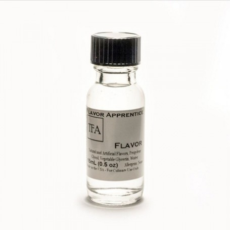 DOUBLE CHOCOLATE (CLEAR) AROMA 15 ML TFA
