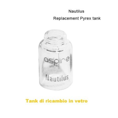 TANK RICAMBIO NAUTILUS IN PYREX ASPIRE