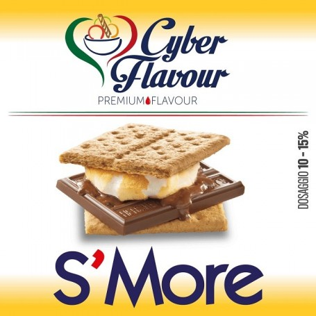 S MORE AROMA 10 ML CYBER FLAVOUR