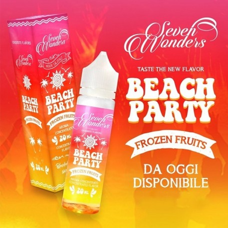 BEACH PARTY CONCENTRATO 20 ML SEVEN WONDERS