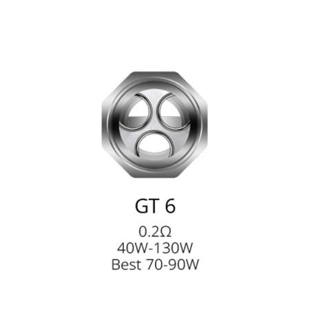 COIL GT6 0,20 OHM PER NRG TANK 1 PZ VAPORESSO