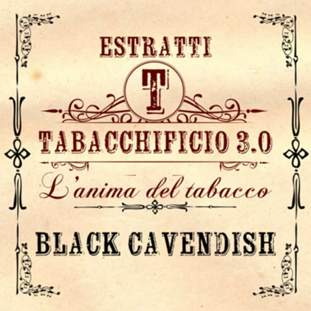 BLACK CAVENDISH AROMA 20 ML TABACCHIFICIO 3.0