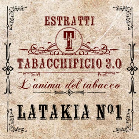 LATAKIA N1 AROMA 20 ML TABACCHIFICIO 3.0