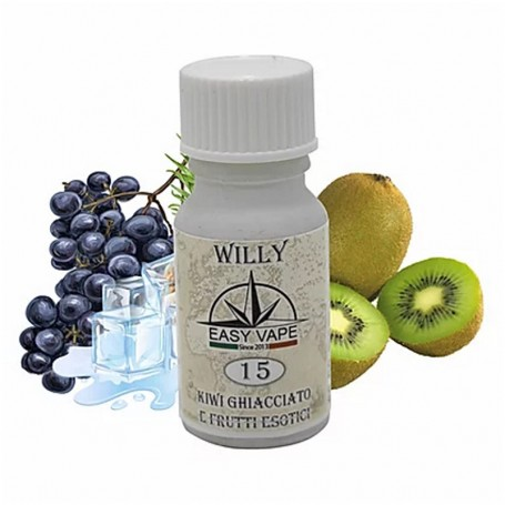 WILLY 15 IL VENTO CAMBIA AROMA 10ML EASY VAPE