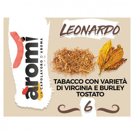 LEONARDO 6 AROMI  AROMA 10ML EASY VAPE
