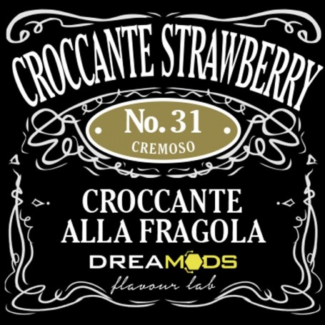 31 CROCCANTE STRAWBERRY AROMA 10 ML DREAMODS