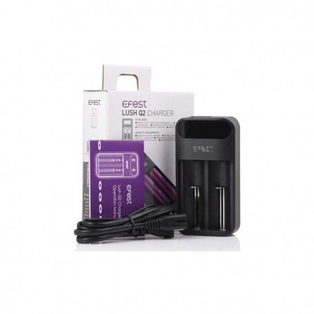 CARICABATTERIE LUSH Q2 CHARGER EFEST